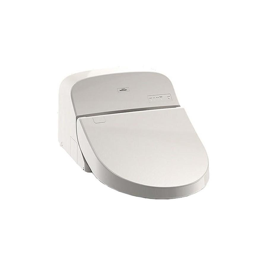 Shop TOTO G400 Washlet Plastic Elongated Slow-Close Heated Bidet ...