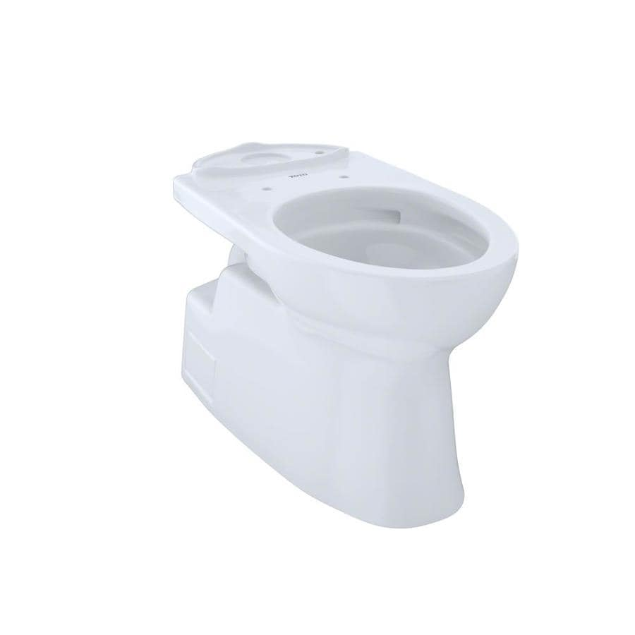TOTO Vespin II Chair Height Cotton White 12 Rough-In Elongated Toilet Bowl