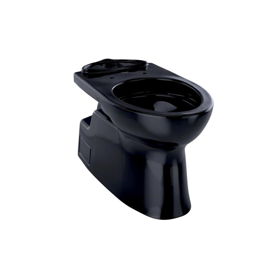 toto vespin ii. TOTO Vespin II Ebony Elongated Chair Height Toilet Bowl Toto Ii