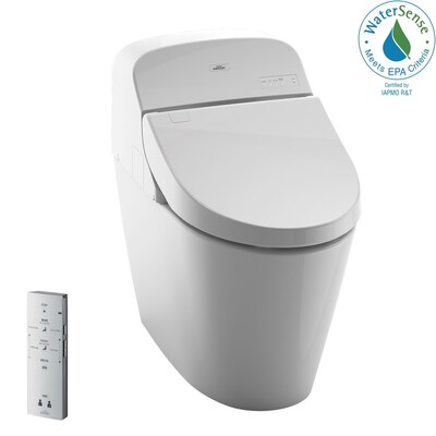 Toto G400 Cotton White Watersense Dual Flush Elongated Chair