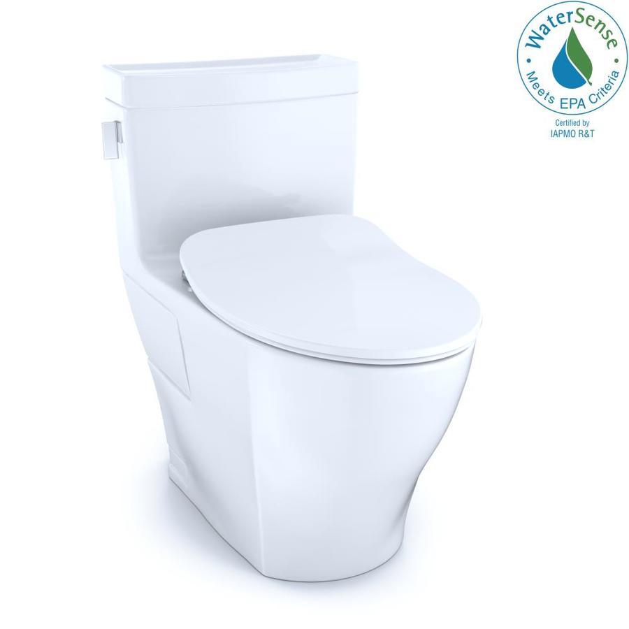 Toto Legato Cotton White Watersense Elongated Chair Height