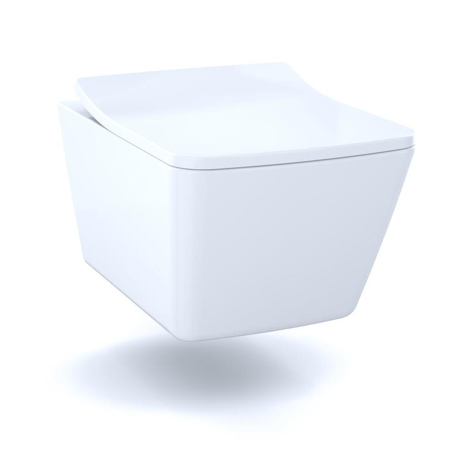 Toto Sp Cotton White Elongated Wall Hung Toilet Bowl