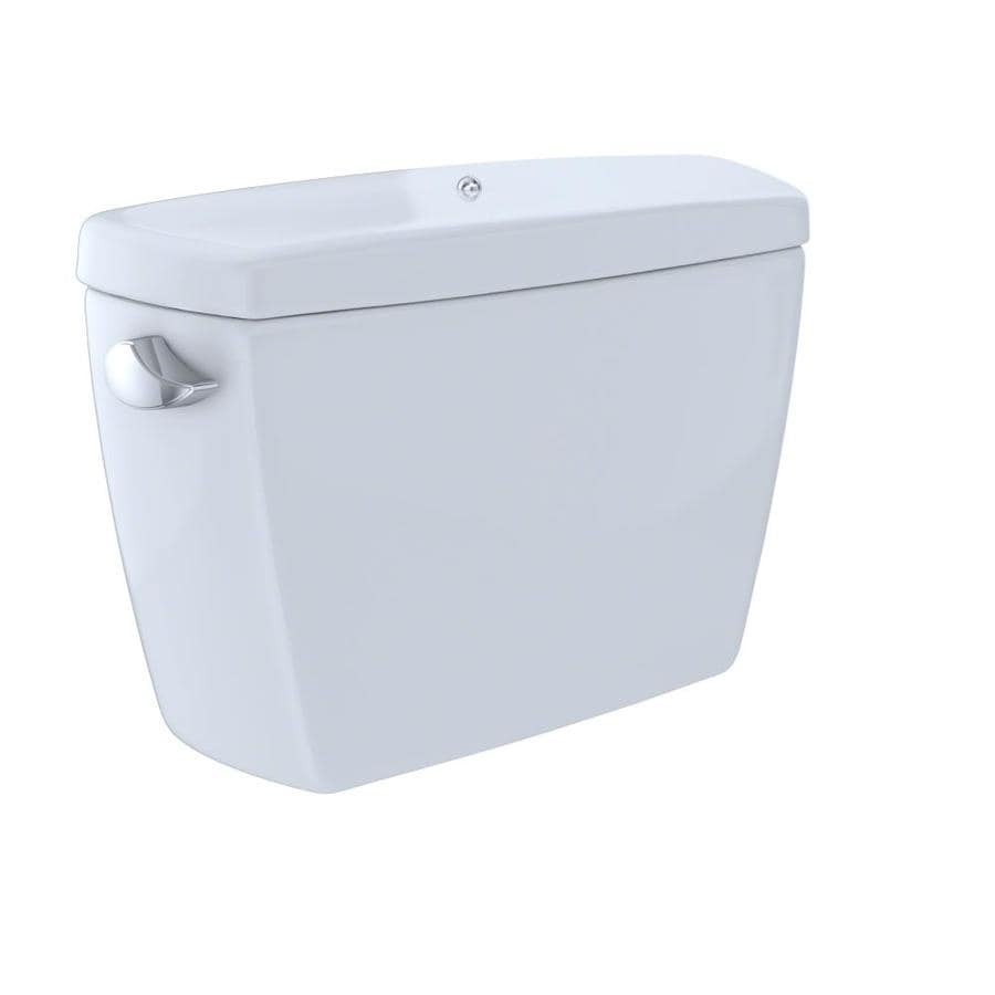TOTO Drake Cotton White 1.6-GPF Single-Flush High-Efficiency Toilet Tank