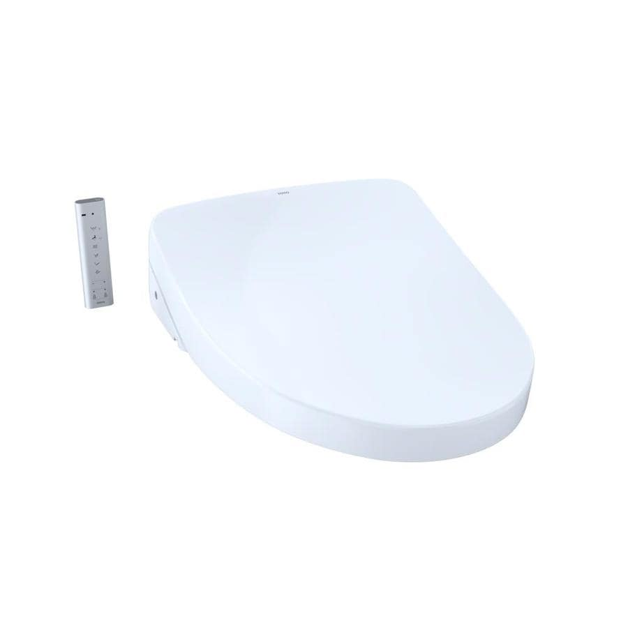 Toto Washlet Plastic Elongated Slow Close Heated Bidet