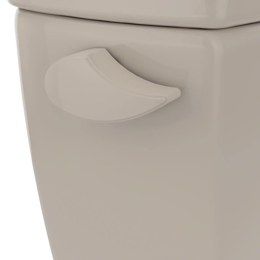 Toto Drake 8 In Bone Toilet Lever For Toto At Lowes Com