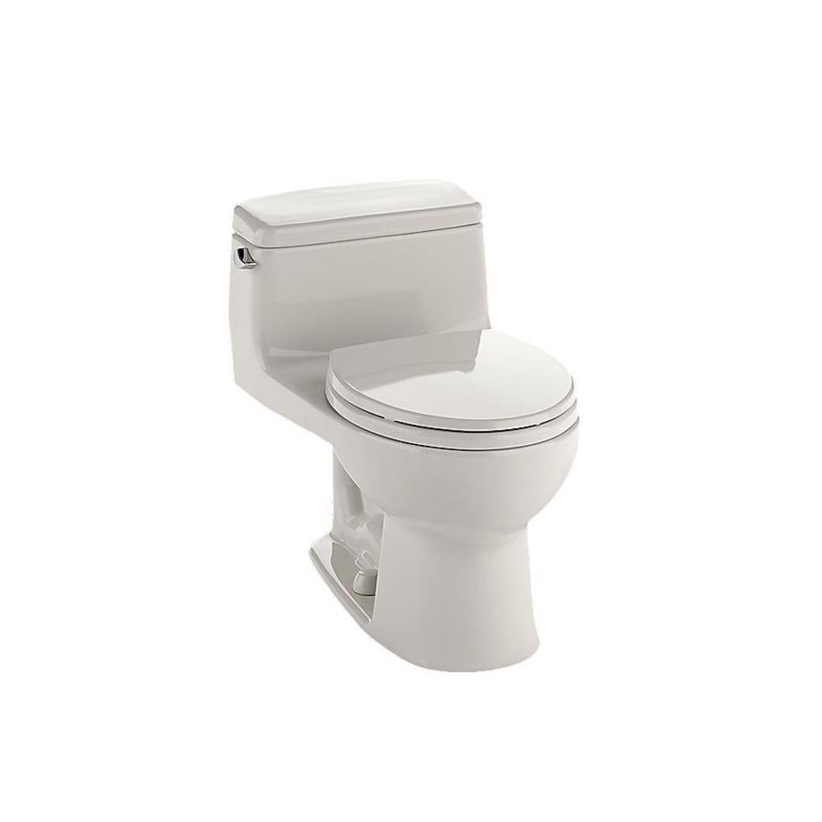 TOTO Eco Supreme 1.6 Sedona Beige Round Standard Height 1-Piece Toilet