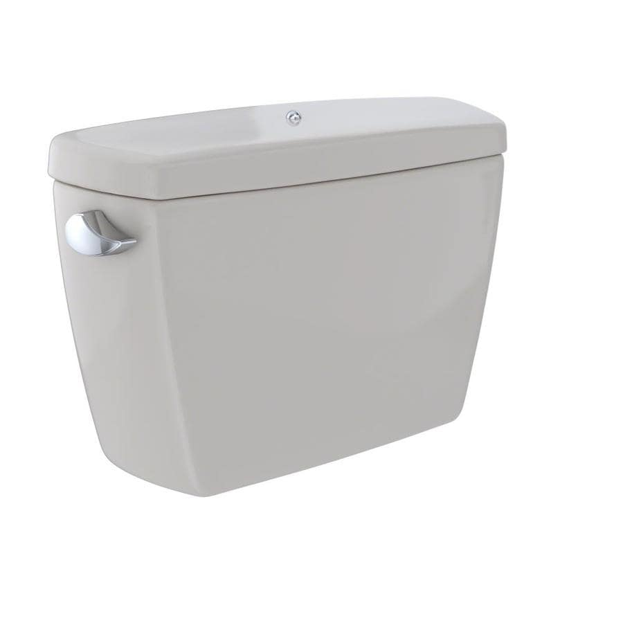 TOTO Drake Sedona Beige 1.6-GPF (6.06-LPF) 12 Rough-In Single-Flush High-Efficiency Toilet Tank