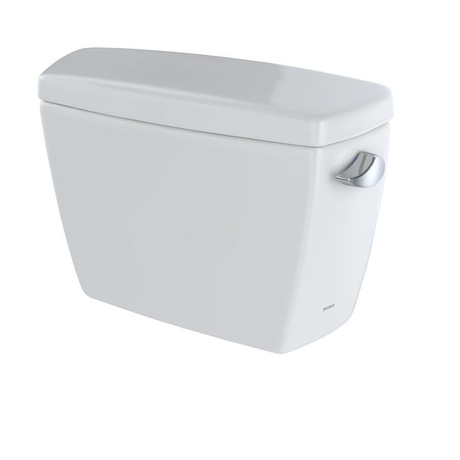 TOTO Drake Colonial White 1.6-GPF Single-Flush High-Efficiency Toilet Tank