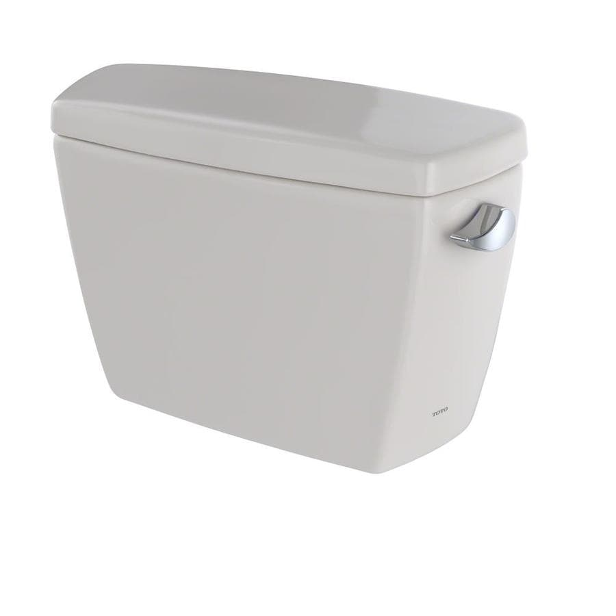 shop toto drake sedona beige 1 6 gpf single flush high efficiency toilet tank at. Black Bedroom Furniture Sets. Home Design Ideas