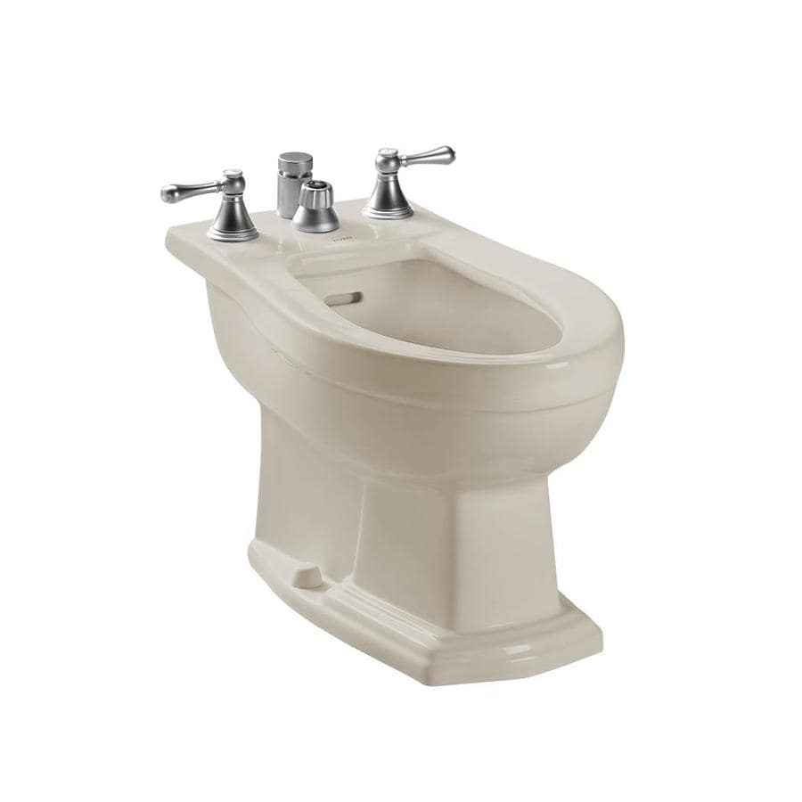 TOTO Clayton 15-in H Sedona Beige Elongated Bidet