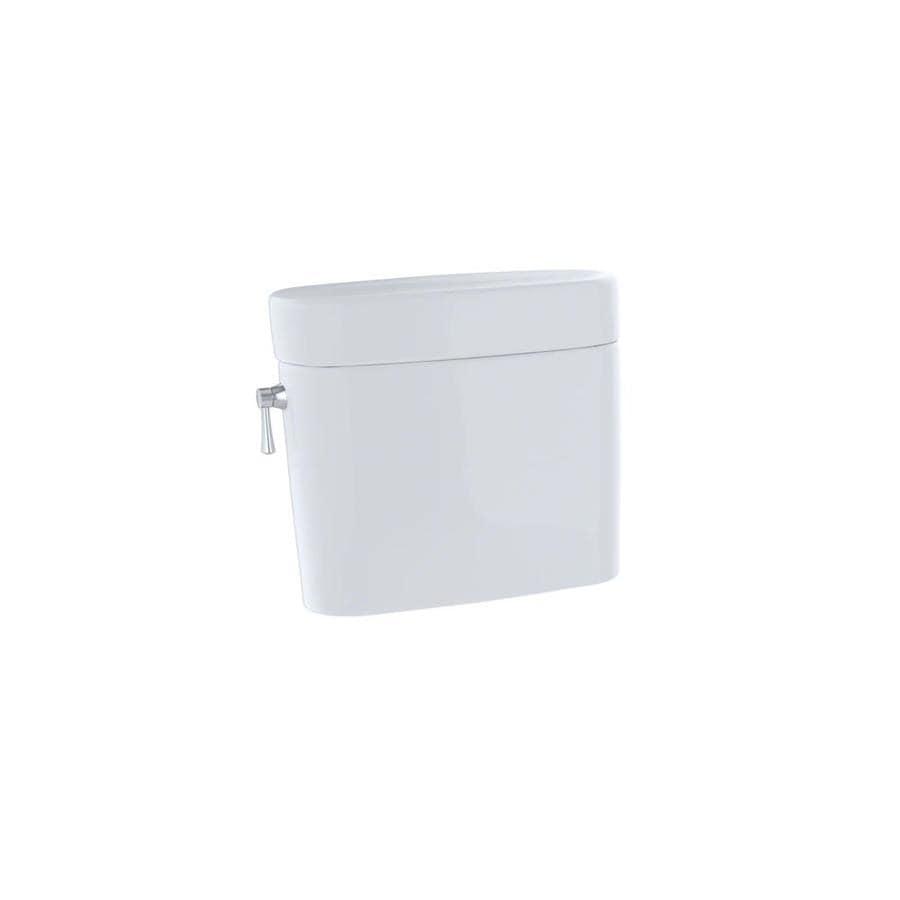 TOTO Nexus Cotton White 1.6-GPF Single-Flush High-Efficiency Toilet Tank