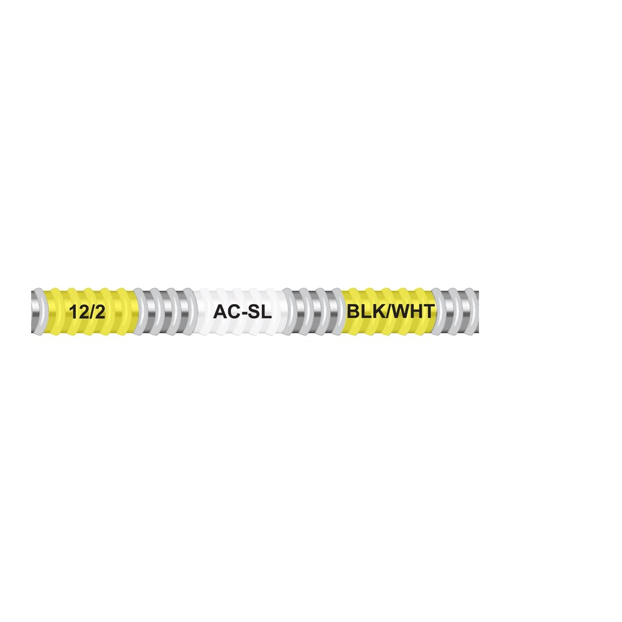 Shop Encore Wire 25-ft 12-2 Solid Steel AC Cable at Lowes.com