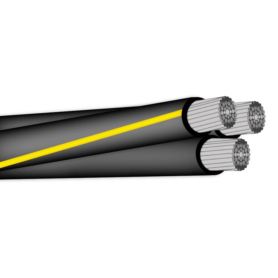 Shop Encore Wire 4/0-2 2/0-1 Aluminum URD Service Entrance Cable (By ...