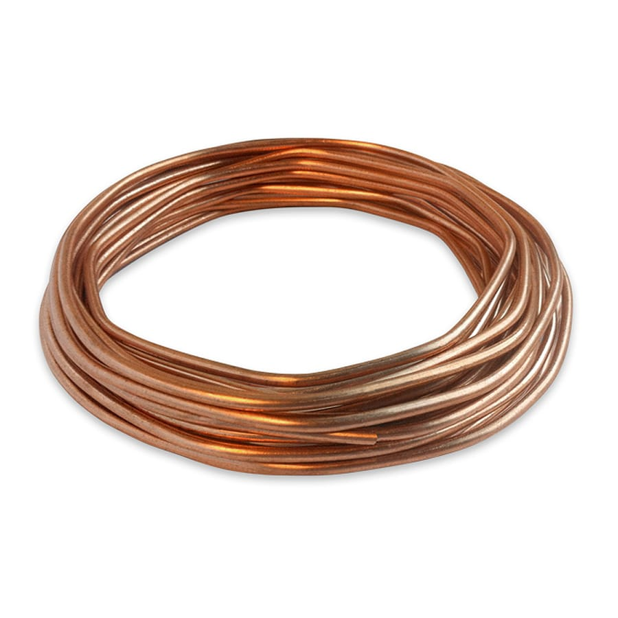 Shop Encore Wire 25-ft 8-Gauge Solid Soft Drawn Copper Bare Wire (By ...