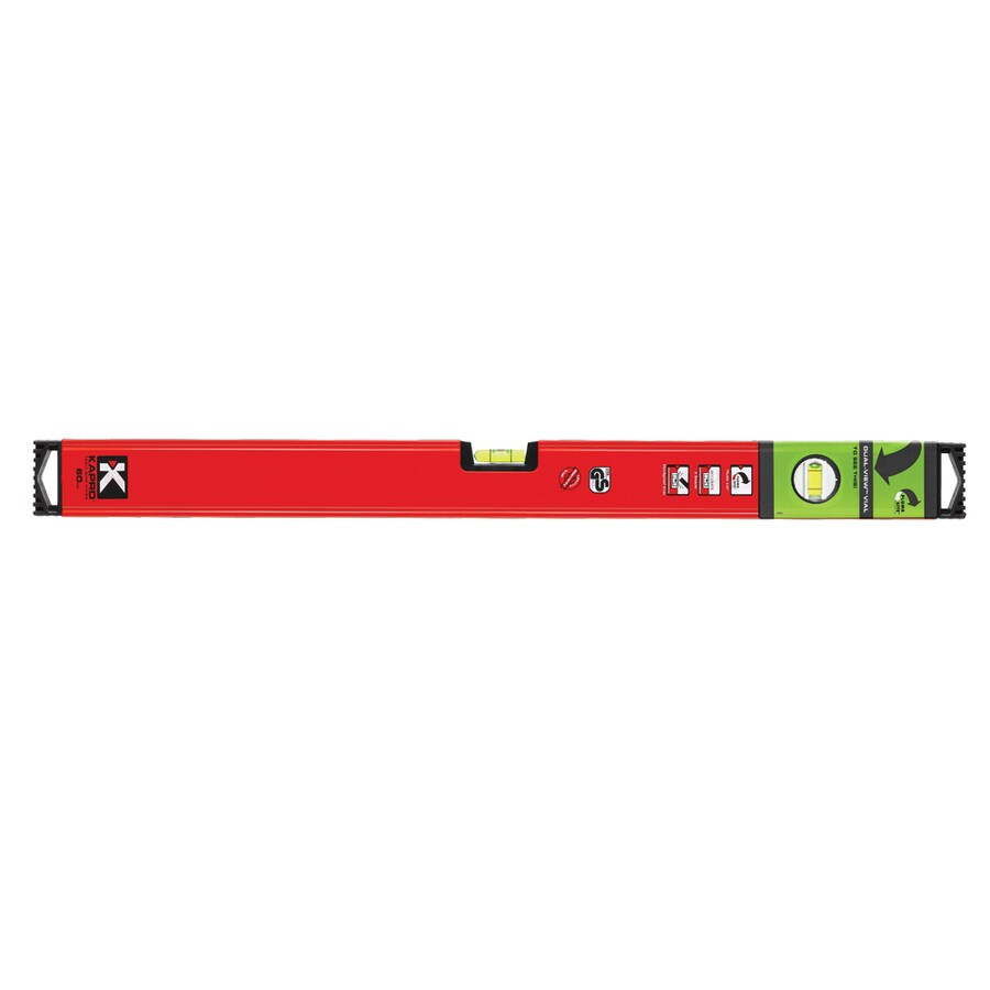 KAPRO Genesis 24-in Magnetic Box Beam Level Standard Level