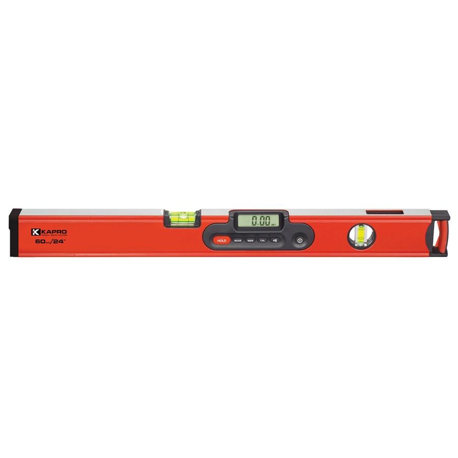 KAPRO Digiman 24-in Magnetic Digital Display Box Beam Level Standard Level