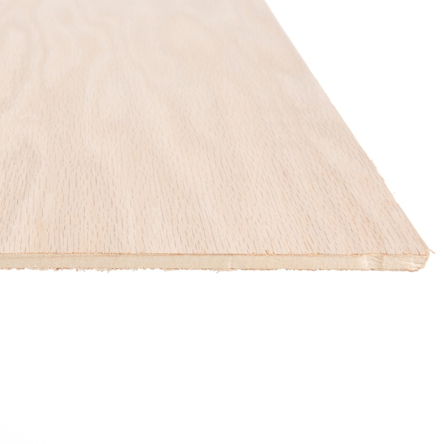 Top Choice 1/4-in HPVA Oak Plywood, Application As 4 x 8