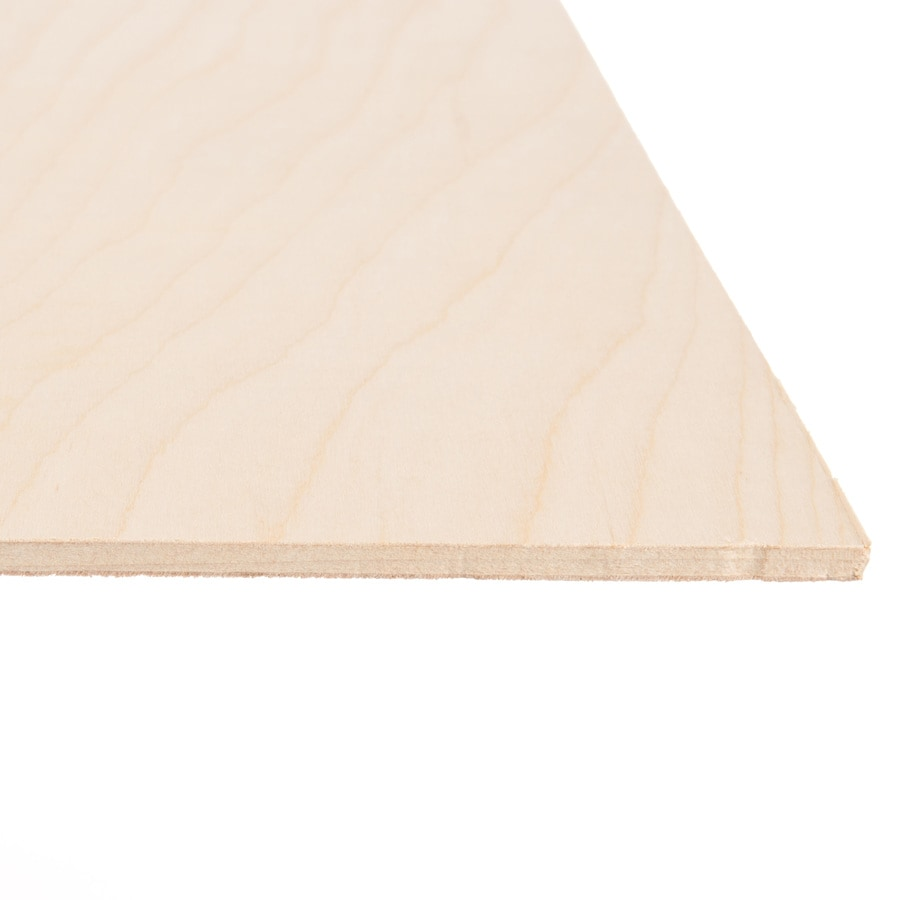 Top Choice 1/4-in HPVA Birch Plywood, Application As 4 x 8