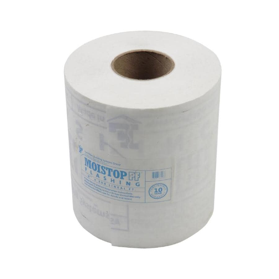 6-in x 300-ft PVC Roll Flashing