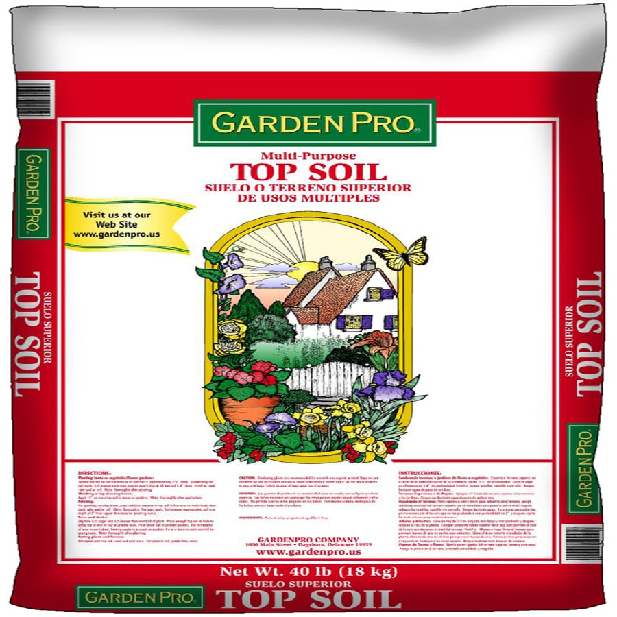 GARDEN PRO 1-cu ft Top Soil