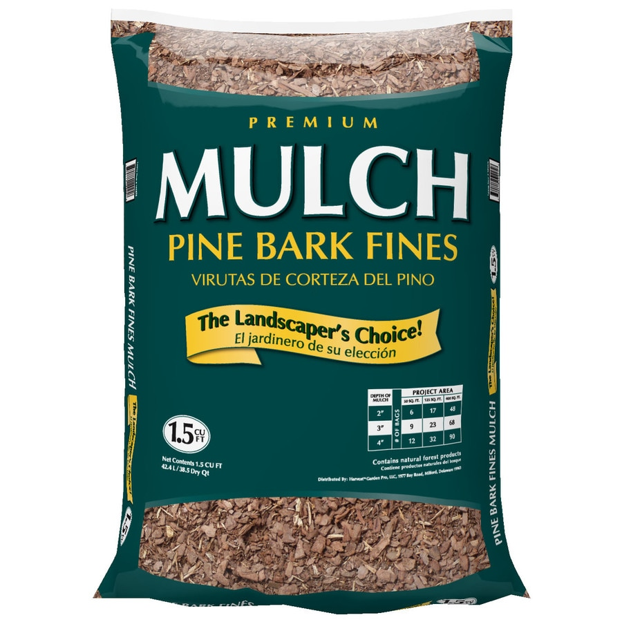 Garden Pro 1 5 Cu Ft Brown Bagged Mulch