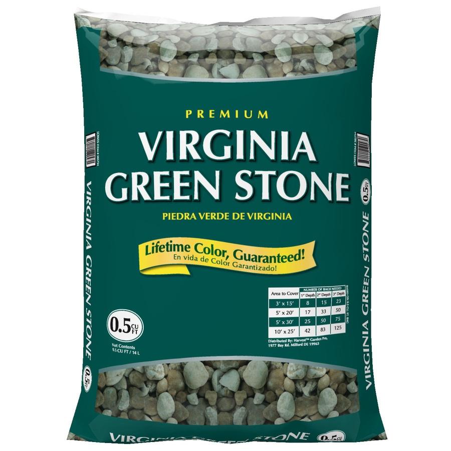 GARDEN PRO 0.5-cu ft Virginia Green Stone