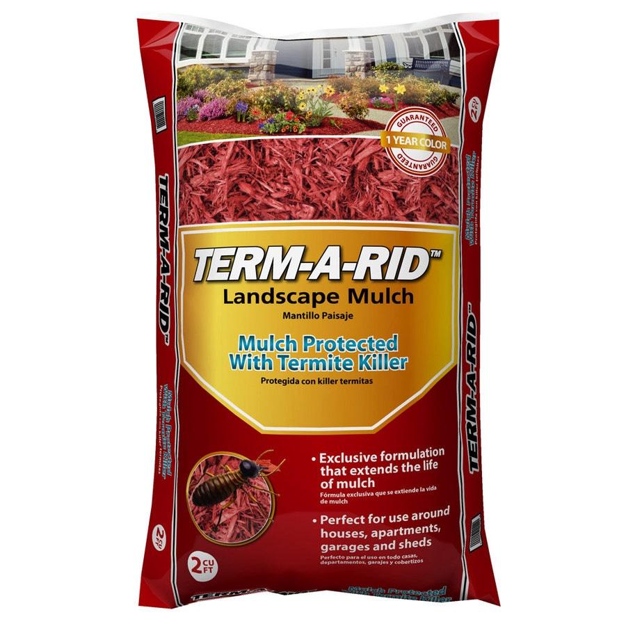 Term-A-Rid 2-cu ft Red Hardwood Mulch
