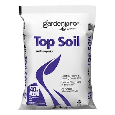 GARDEN PRO 40-lb Organic Top Soil at Lowes com
