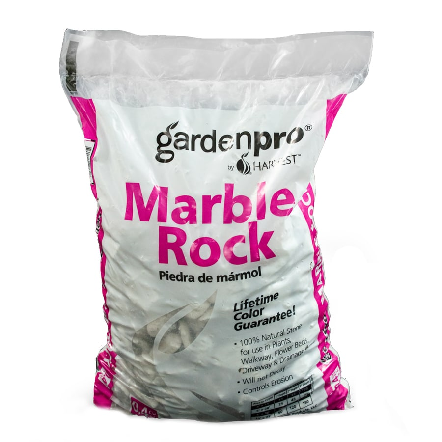 Shop GARDEN PRO 04 cu ft Marble Rock at Lowescom