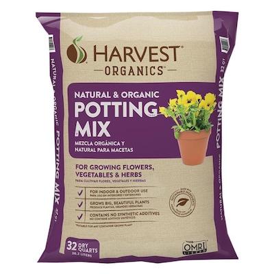 HARVEST Organic Harvest Organics 32-Quart Organic Potting