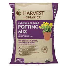 HARVEST Organic 32 QuartS Potting Mix With Fertilizer