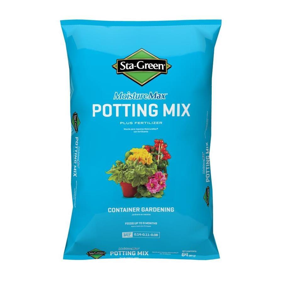 Sta-Green 64-Quart Potting Mix with Fertilizer