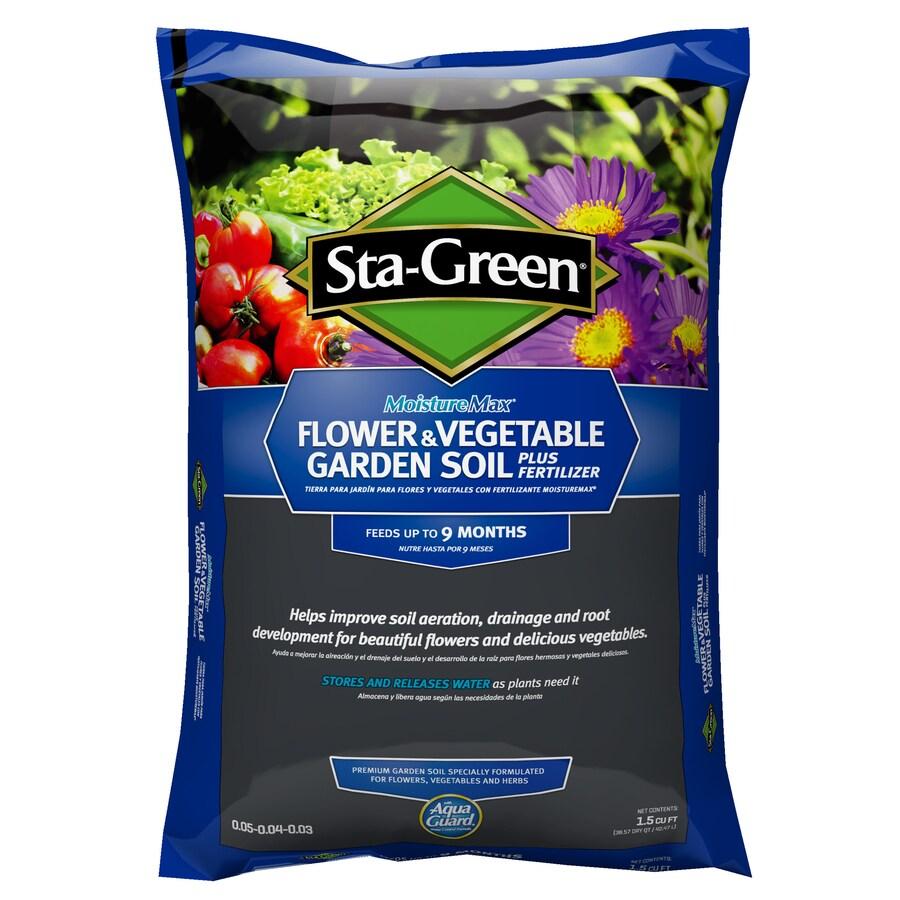 Sta-Green 1.5-cu ft Flower and Vegetable Garden Soil