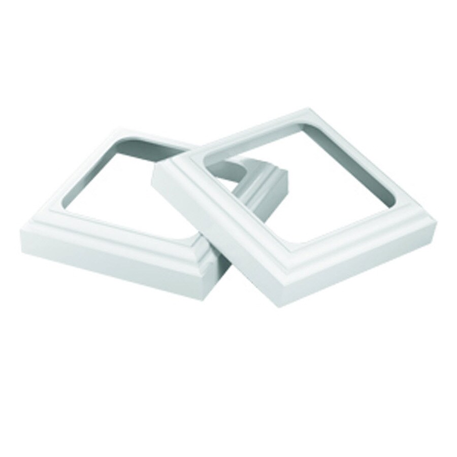 Shop Fypon 1 5 In X 7 In Unfinished Pvc Column Cap And