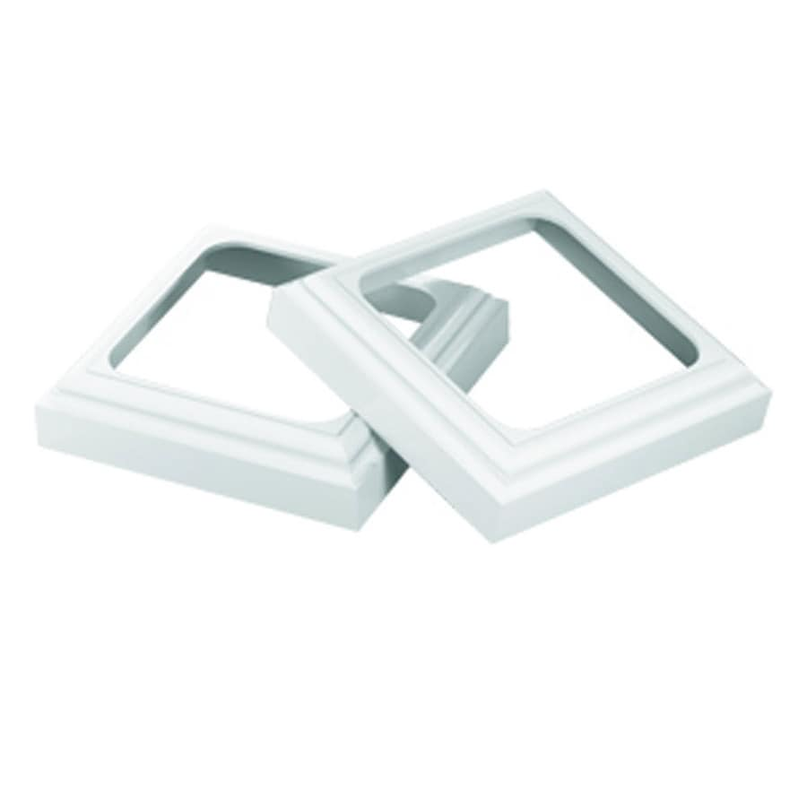 Shop fypon 1 5 in x 7 in unfinished pvc column cap and Fypon pvc