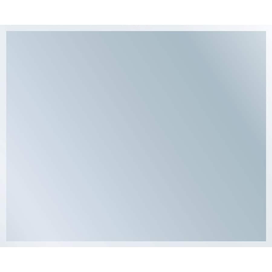 Style Selections Polished Frameless Wall Mirror