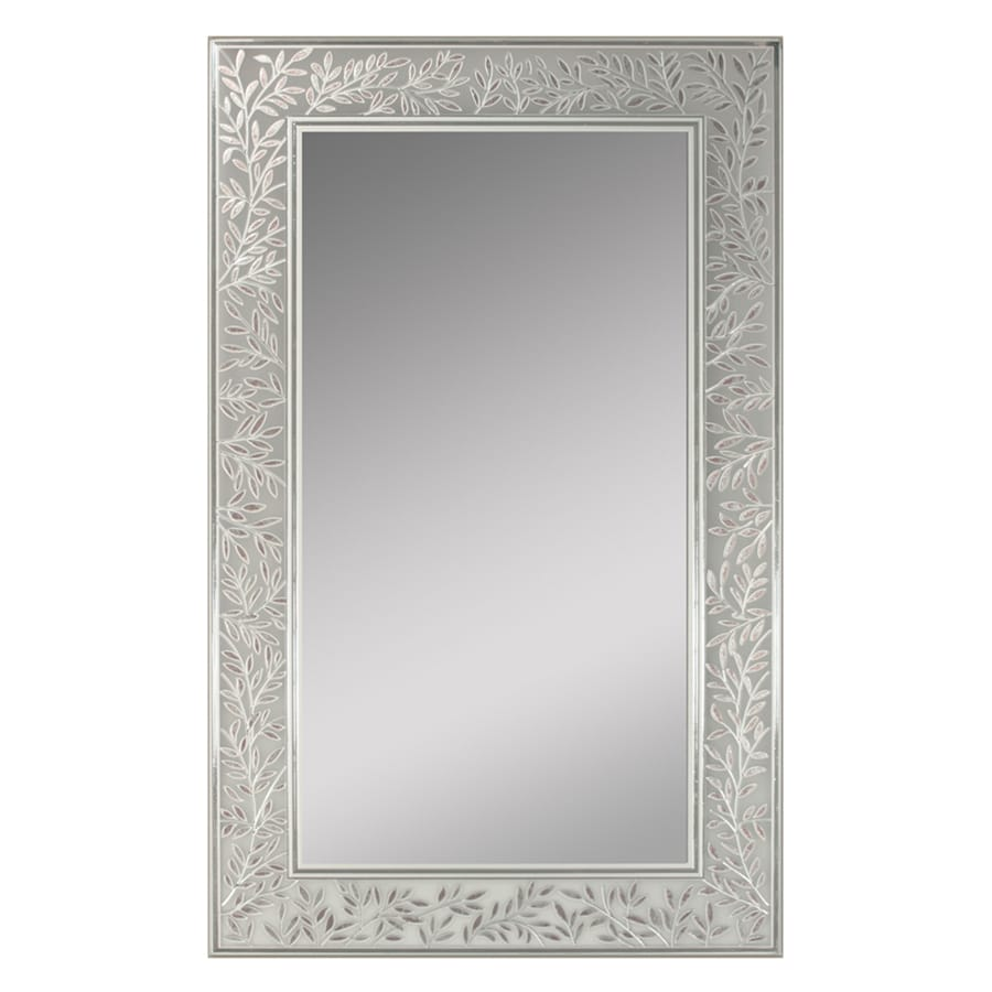 Shop Style Selections Frosted Etching Polished Frameless Wall Mirror ...