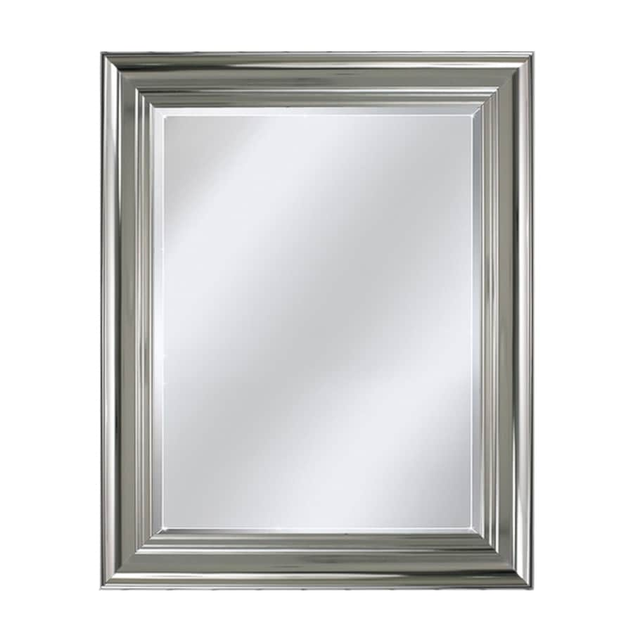 allen + roth Chrome Wall Mirror