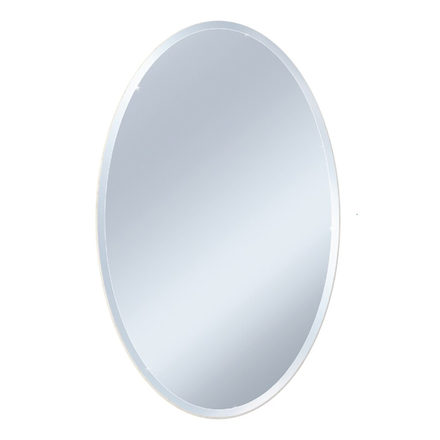 Oval Beveled Wall Mirror In The Mirrors