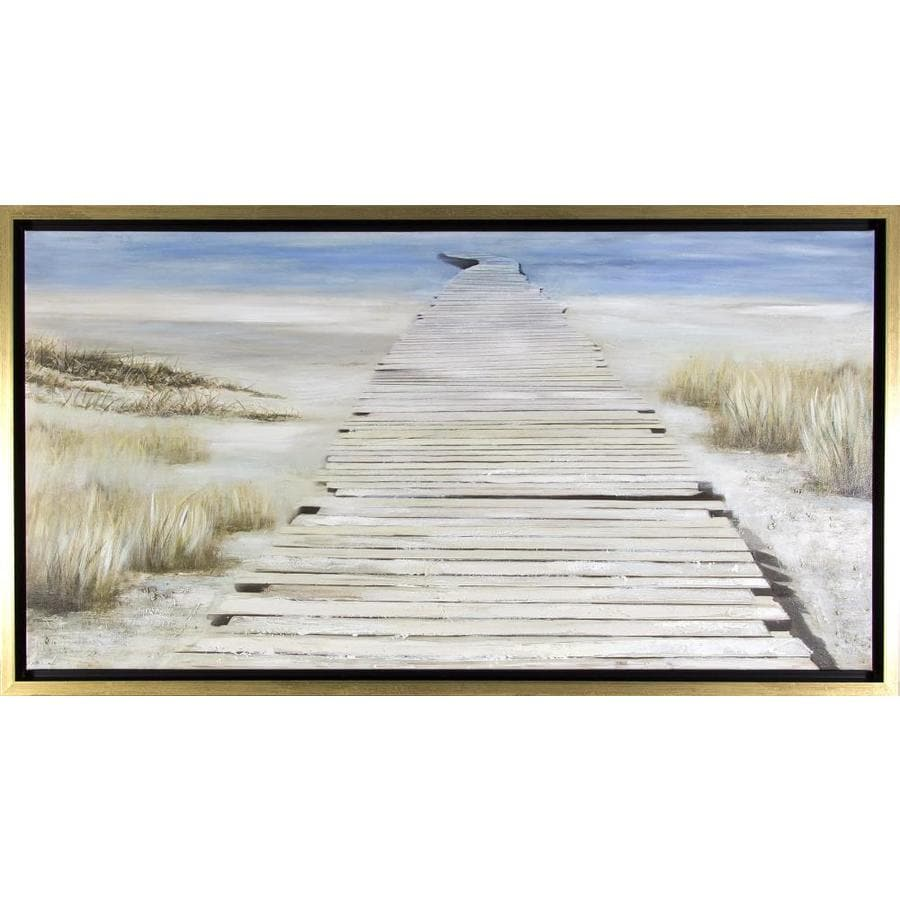 Shop Framed Coastal Painting on Canvas at Lowes.com