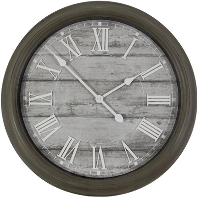 Analog Round Indoor Wall Clock at Lowes com