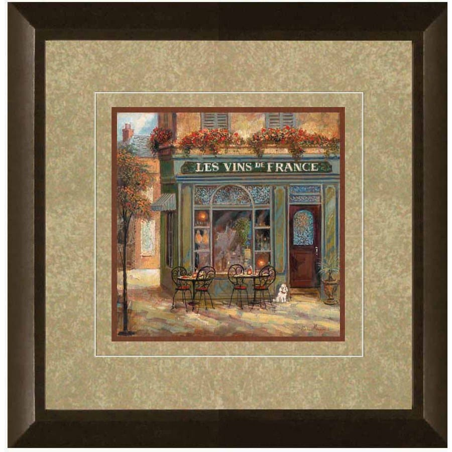 shop 12 in w x 12 in h landscape framed art at lowescom With kitchen cabinets lowes with landscape wall art framed