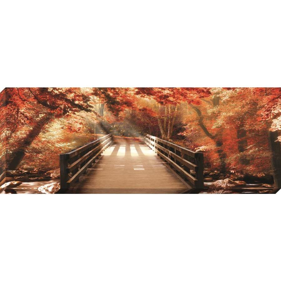 37-in W x 14-in H Frameless Canvas Landscape Print Wall Art