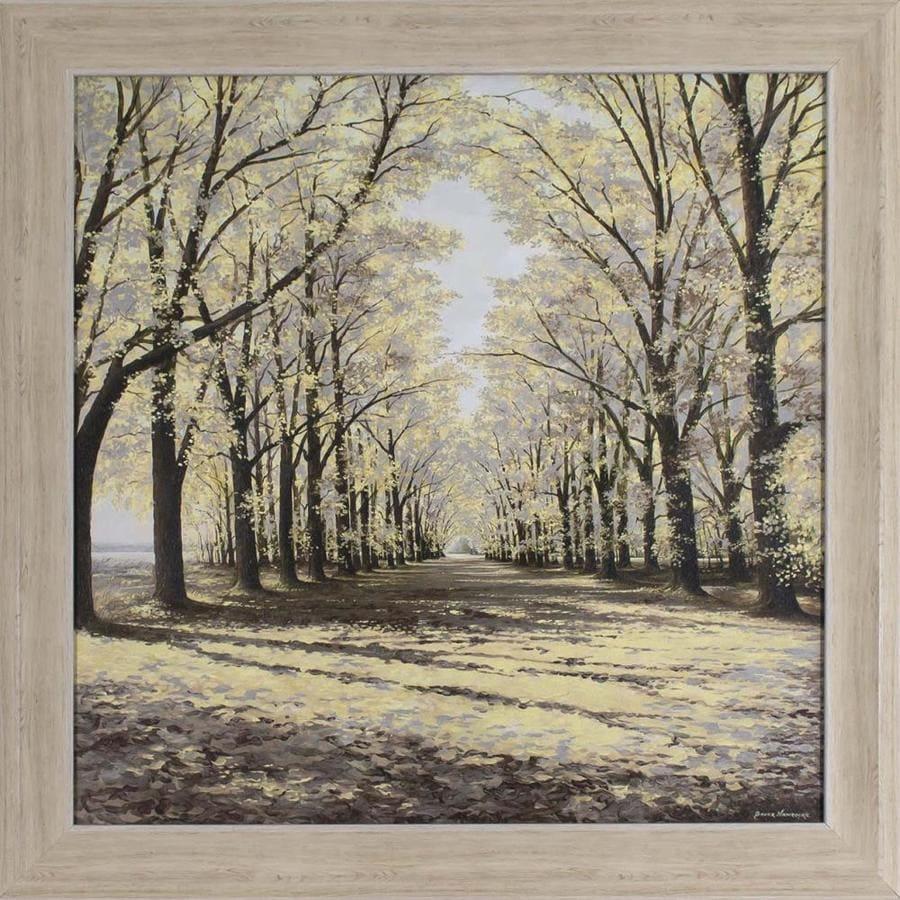 28.5-in W x 28.5-in H Framed Landscape Print Wall Art