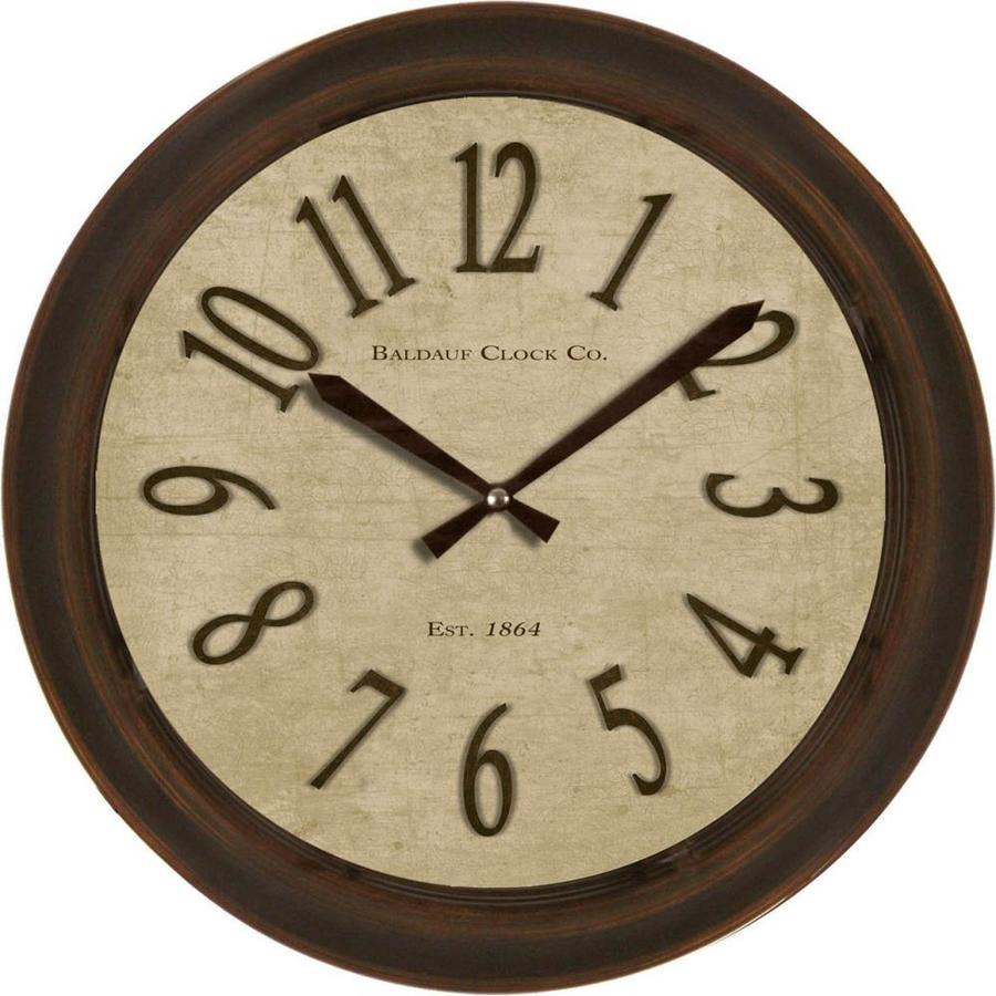 Shop clocks at lowes 22 in traditional clock amipublicfo Gallery