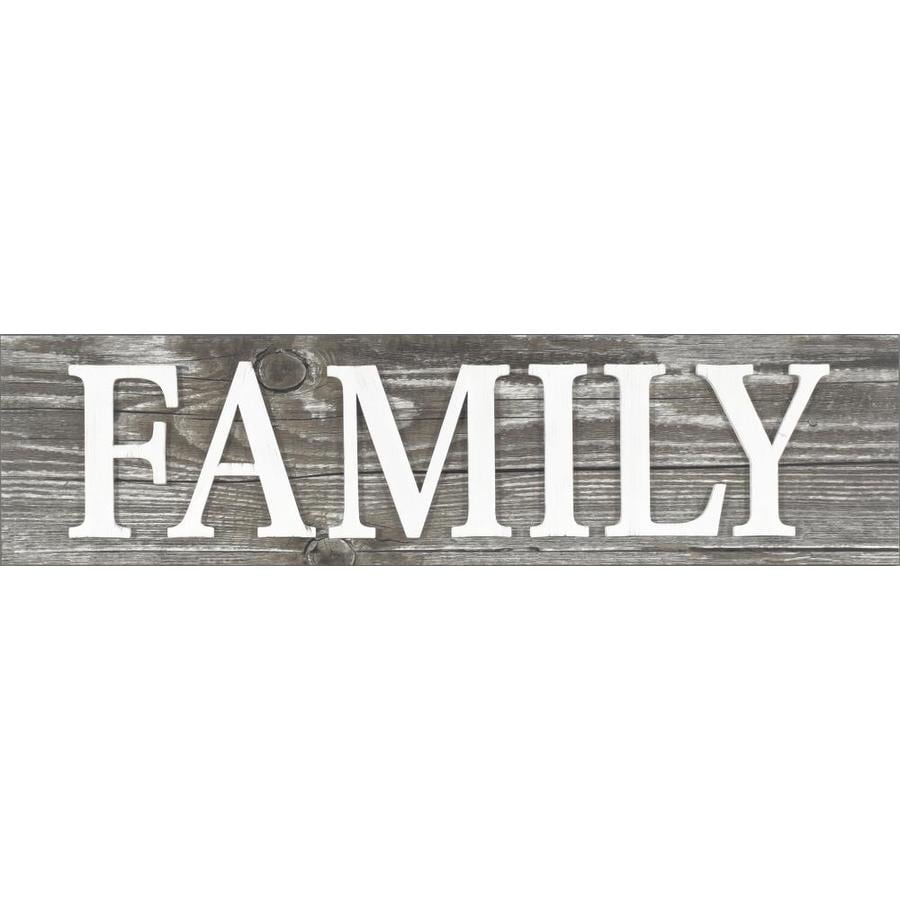 8-in H x 31-in W Inspirational Word Art at Lowes com