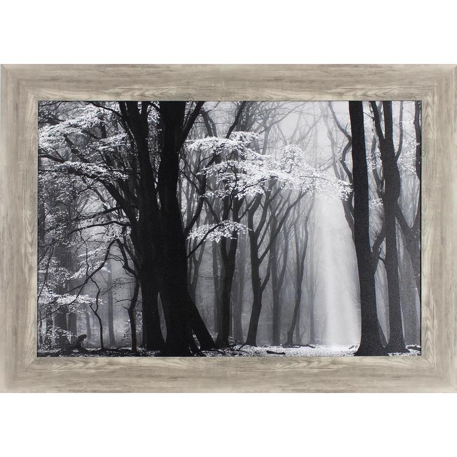 43.5-in W x 31.5-in H Framed Landscape Print Wall Art
