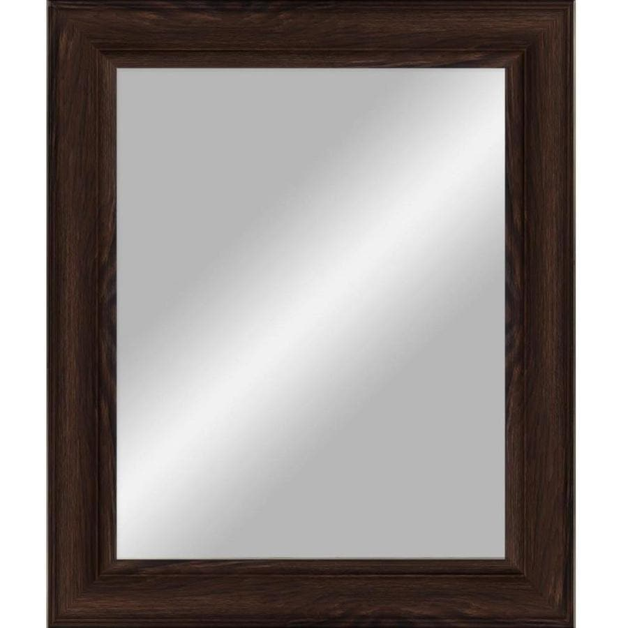 Shop mirrors mirror accessories at lowes 385 in x 485 in beveled rectangle transitional wall mirror amipublicfo Gallery