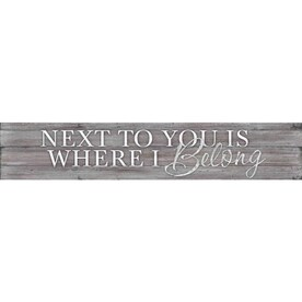 Vintage Parts 683585 Lowis White Stamped Aluminum Street Sign Mancave Wall Art