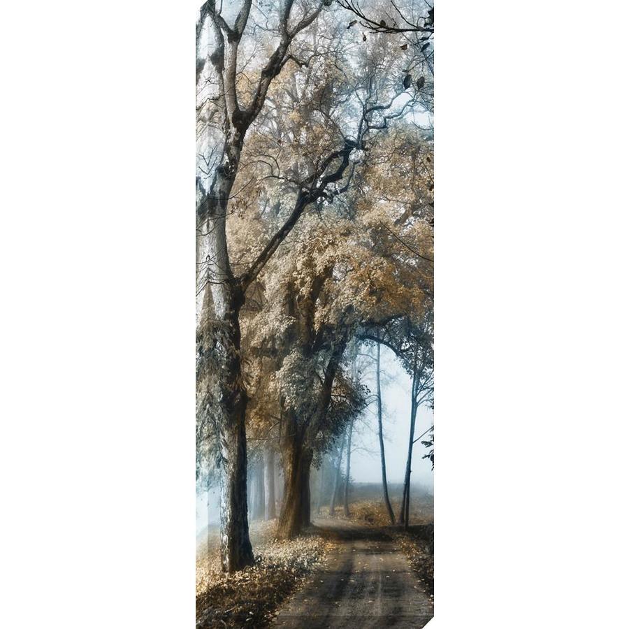 14-in W x 37-in H Frameless Canvas Landscape Print Wall Art